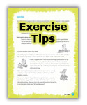 Exercise Tips.