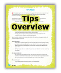 Tips Overview.