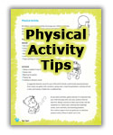 Physical Activity Tips.